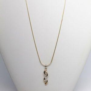 Jewelry - Vermeil 925 CZ Necklace